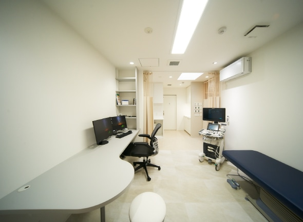 診療室・腹部超音波検査