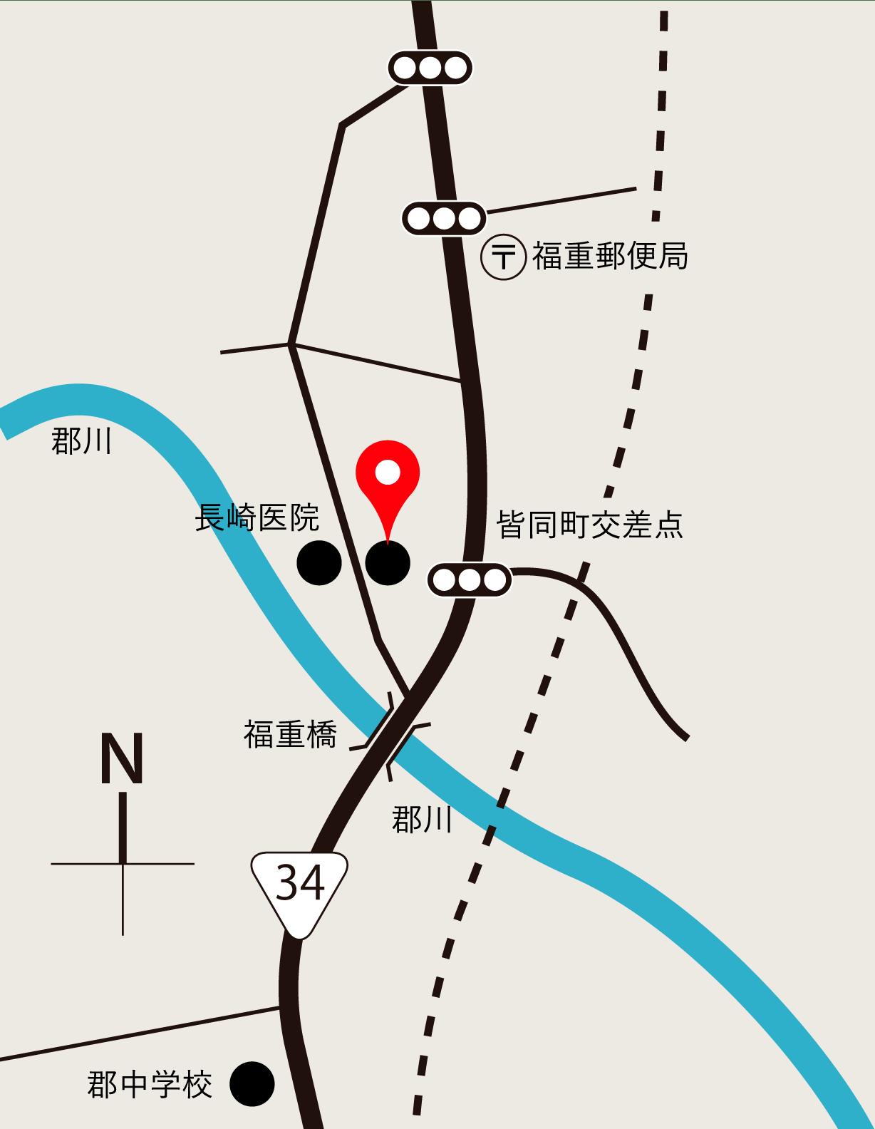 当院へのアクセスマップ